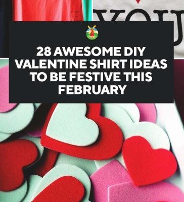 e450a56d3 28 Awesome DIY Valentine's Day T-Shirt Ideas - Homesteading Alliance