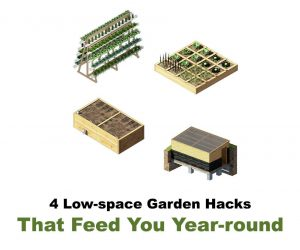 low space garden hacks