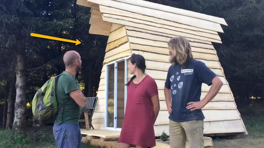 diy tiny house build